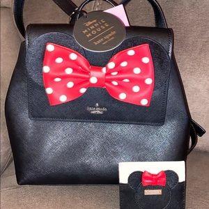 NWT Kate Spade Minnie Backpack